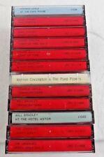 MIXED LOT OF VINTAGE JAZZ MUSIC BY VARIOUS ARTISTS  - LOT OF 12 CASSETTE TAPES