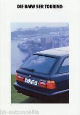 Prospekt BMW 5er Touring 1 92 1992 Autoprospekt 520i 525i 525iX 525tds brochure