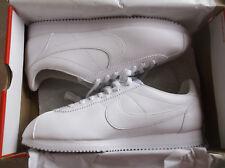 Nike Men's Classic Cortez Leather Trainers, SIZE UK 12, EUR 47.5, COLOR WHITE