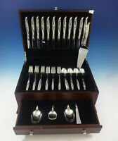 Rose Ballet by International Sterling Silver Flatware Service 12 Set 53 Pieces