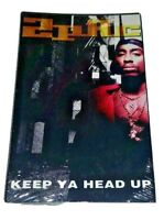 Keep Ya Head Up EP Single 2Pac Cassette 1993 Interscope USA Tupac