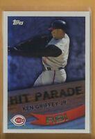 Ken Griffey Jr 2007 Topps Hit Parade Insert Card # HP12 Cincinnati Reds Baseball