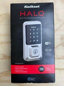 Kwikset Halo Wi-Fi Smart Lock Keyless Entry Electronic Touchscreen Deadbolt