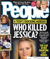 GWEN STEFANI BLAKE SHELTON People Magazine 2014 1/4/14 WHO KILLED JESSICA