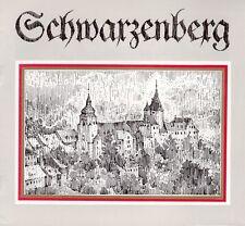 Schwarzenberg von Manfred Blechschmidt/ein Schwarzenberger Stadtrundgang/1988
