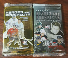 In the Game 2007-08 and 2011-12 Heroes and Prospects Hockey 2 pack lot 14 cards
