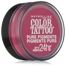 Maybelline New York Eye Color Tattoo Pure Pigments, Pink Rebel 0.05 oz 2pk