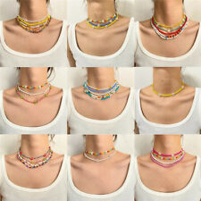 2021 Necklace Choker String Beaded Strand Women Men Jewelry Elegant Cute Gift CA