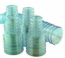 "Pack of 50 1 1/4"" Polystyrene Disposible Stackable Communion Cups Church Service"