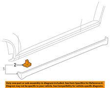 GM OEM Exterior-Rocker Panel Molding Retainer 15221959