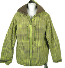 NEW $420 Burton AK 2L Stagger Jacket!  XL  Gore-Tex  Radiator Gingham Green Plai