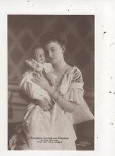 Prinzessin Joachim Von Preussen & Karl Franz Joseph RP Postcard Germany 046b