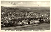 Bad Orb Spessart AK 1959 gelaufen Totale Blick auf Kinderheilanstalt Sanatorium