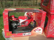 GUILOY 1/10 MOTO MOTORCYCLE GILERA 125cc N°54 Manuel Poggiali GILERA RACING TEAM