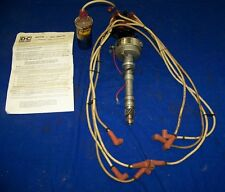 D - C STREETSPARK CHEVY 327 427 DUELPOINT IGNITION DISTRIBUTOR AND ACCEL COIL