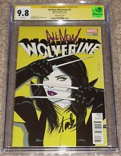 Marvel Comics All New Wolverine 3 CGC 9.8 SS Stan Lee Signed X-23 Lopez Cover