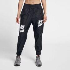Nike Sportswear Windrunner Women's Pants L Black White Ripstop Casual Gym New