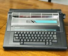 Vintage Electric Typewriter Sharp Pa 3000ll Working Condition Tested