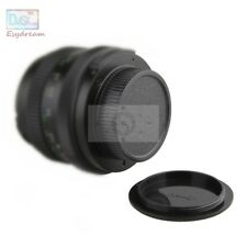 Body Cap + Rear Lens Cover for M42 42mm Zenit Pentax Takumar Carl Zeiss Praktica