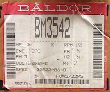 Baldor BM3542 3/4 HP, 1725 RPM, 3 PH