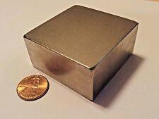 Huge NEODYMIUM block MAGNET! N52 grade rare earth magnet. New SUPER magnet!