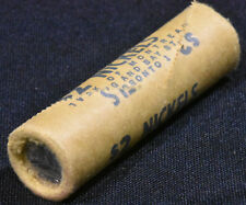 1965 Original Roll of 5 cents BU - Bank of Montreal Wrapped