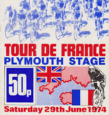 Plymouth 1974 Tour De France Depart, Vintage Cycling Programmes, dvd