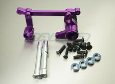 HPI SAVAGE 4.6 5.9 FLUX XL Aluminum Alloy Steering Assembly Servo Saver Purple