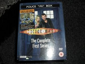 (police public call box doctor who The complete first series)DVD BOX SET