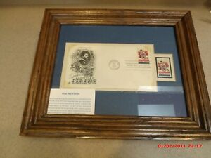 Framed First day of issue, 1966, Salute to the American Circus, Envelope/Stamps