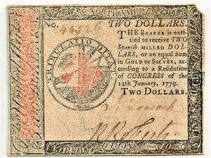 Continental Currency January 14, 1779 High Grade