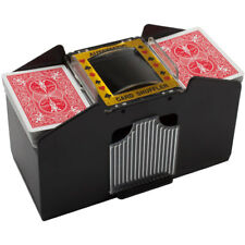 Casino 1-4 Deck Automatic Card Shuffler For Poker Games by GSE