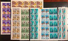 Turks & Caicos #158-165 Complete 10 Sets 1967 MNH