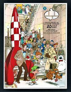 BELGIUM 2009 TINTIN ROCKET IMPERF BLOC BF173 MNH** Bande Dessinée Cartoon Museum