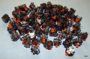 70 QTY Orange Clear Mechanical Keyboard Switches