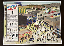 Where's Waldo Walter White poster game Breaking Bad art print Sdcc nycc mondo