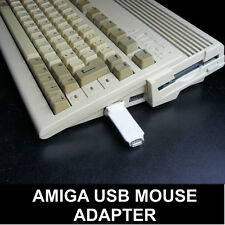 Commodore Amiga A500 A600 A1200 Maus Adapter für PC USB Mäuse - UK