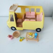 Sylvanian Families Nursery School Bus + Accessories Bundle