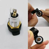 DC 12V/24V Universal Female Din Cigarette Lighter Socket Adaptor Plug Hella BMW