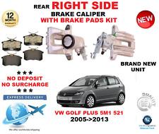 ASSE post. DX PINZA FRENO E PASTIGLIE KIT ADATTO A VW GOLF PLUS 2005- > 2013