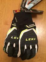 LEKI Ski Gloves Race Coach C Tech S size 8.5