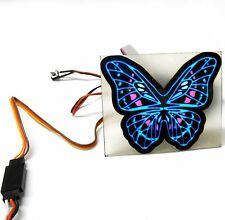 L-019 1/10 Scale Racing Car Truck Body Shell Roof Bonnet Butterfly Decal Light