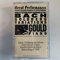 Bach Goldberg Variations Glenn Gould (Cassette)