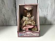 2002 Christina Collection By Christina Verdi Petite Porcelain Collectible Doll