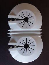 5 Stück Heizkörper Abdeckung Heizungsrohr Manschette Rohrabdeckung Doppelrosette