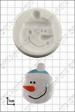 Silicone mould Snowman Face | Food Use FPC Sugarcraft FREE UK shipping!