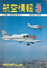 AIR REVIEW 3/72 KAWANISHI SHIDEN-KAI PLANS / EP-3B VQ / DASSAULT-BREGUET MERCURE