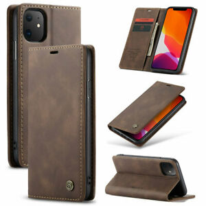 Luxury Magnetic Flip Wallet Case Cover  with Card slots  for Samsung and iPhone