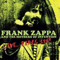 FRANK ZAPPA AND THE MOTHERS OF INVENTION LIVE PARIS 1968 VINYL LP KHLP9090