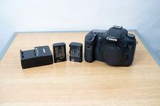 Canon EOS 7D 18.0MP Digital SLR Camera - Body Only With 2 Batteries